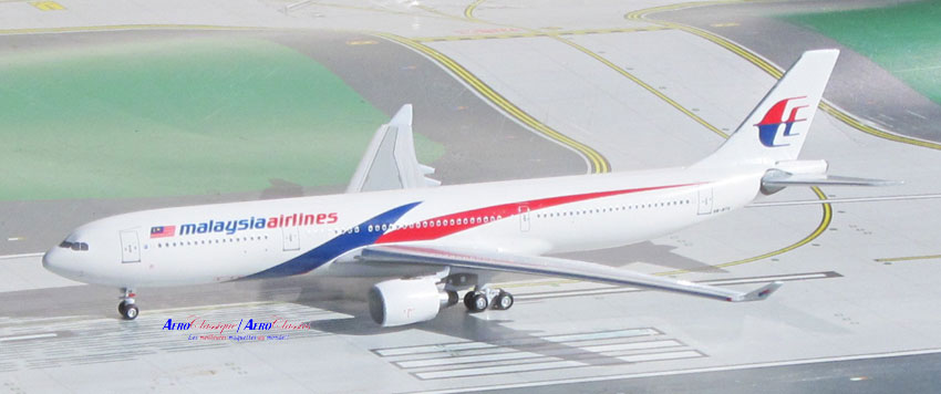 Malaysia A330-300 9M-MTK New Colors (1:400)