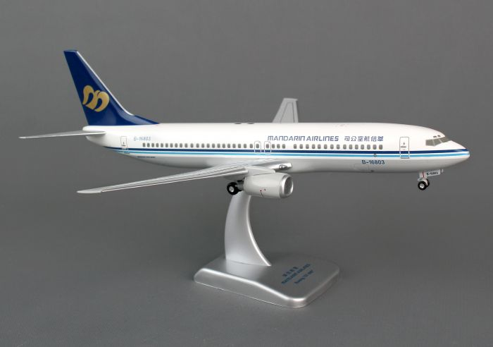 Mandarin 737-800 (1:200), Fully Assembled, B-16803 by Hogan Wings Collectible Airliner Models item number: HG0601G