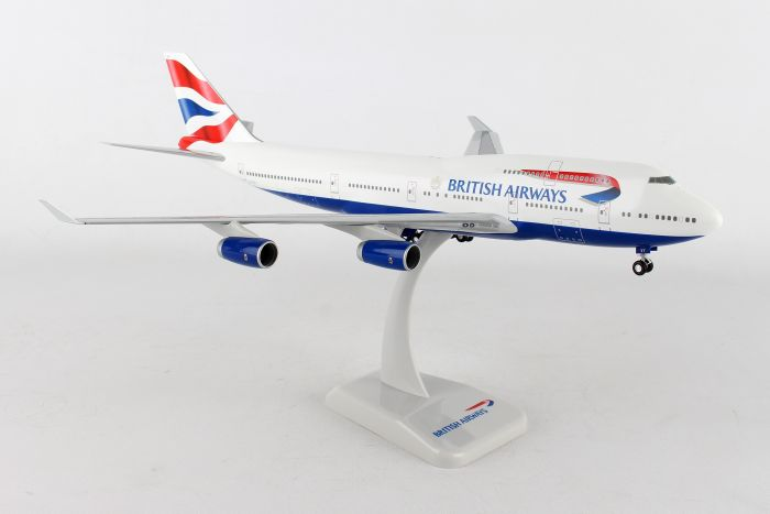 British Airways 747-400 G-CIVY (1:200) by Hogan Wings Collectible Airliner Models item number: HG10192G