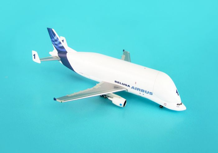 Airbus A300-600ST Beluga #1 New Livery (1:500) by Hogan Wings Collectible Airliner Models item number: HG8171