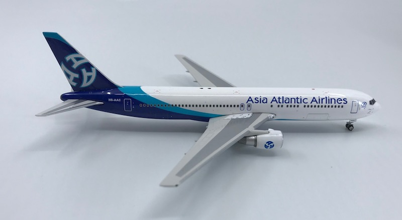 Asia Atlantic Airlines 767-300ER HS-AAC (1:400), Phoenix 1:400 Scale Diecast Aircraft, Item Number PH4AAQ1170