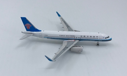 China Southern A320 Sharklets B-1801 (1:400), Phoenix 1:400 Scale Diecast Aircraft, Item Number PH4CSN1300