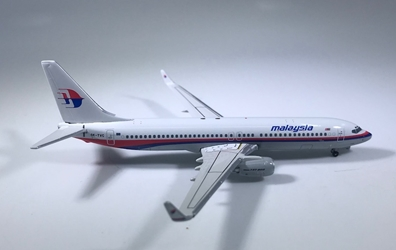 Malaysia Airlines 737-800 (1:400) W/ Winglets by Phoenix 1:400 Scale Diecast Aircraft