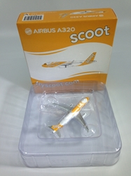 Scoot A320-200 9V-TAZ (1:400) by JC Wings Diecast Airliners Item: JC4SCO723