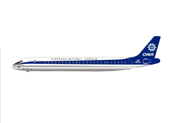 Overseas National Airways (ONA) DC-8-55 N852F (1:400)