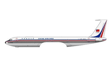 China Airlines 707-320C B-1824 (1:400), AeroClassics Models Item Number AC19130