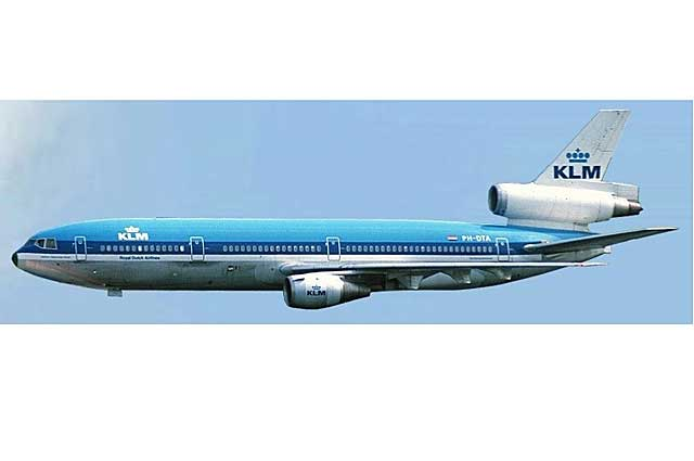 KLM Royal Dutch Airlines DC-10-30 PH-DTA (1:500) - Preorder item, order now for future delivery