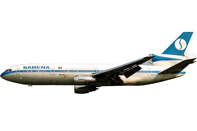 Sabena DC-10-30 OO-SLB (1:500) - Preorder item, order now for future delivery