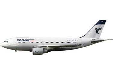 Iran Air A310-300 EP-IBK (1:400), AeroClassics Models Item Number AC19215