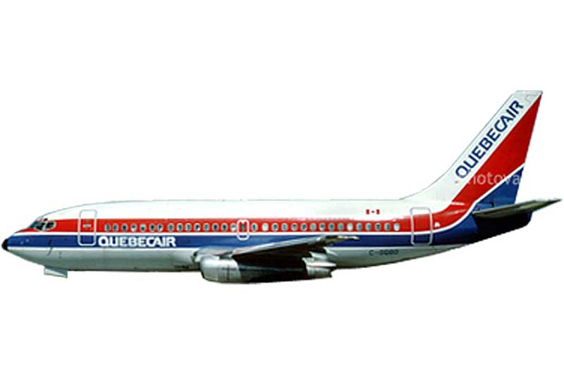 Shop for Quebecair 737-200 LN-BRL (1:400) by AeroClassics Models Item number: #AC19229 at ...