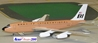 "Braniff International B720 N7081 ""Ochre"" (1:200), Western Models Item Number AC2BNF1215C"