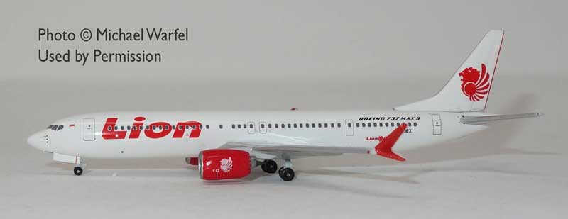 Lion Air 737 Max9 N739EX (1:400)