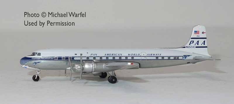 "Pan Am DC-6 N6524C ""Clipper Pocahantas"" (1:400)"