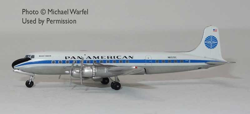 "Pan Am DC-6 N6526C ""Mount Vernon"" (1:400)"