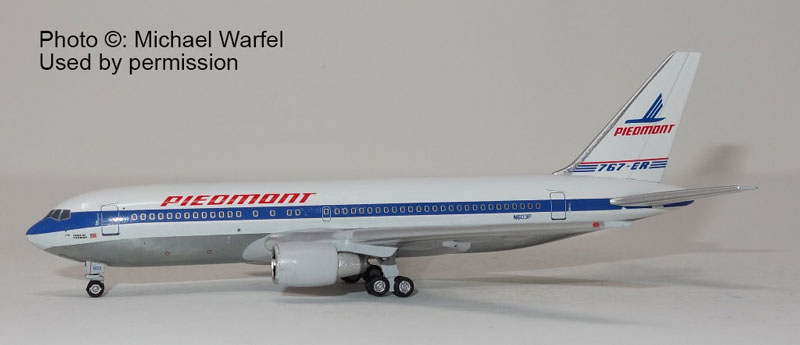 Piedmont 767-200 N603P  (1:400) by AC419589