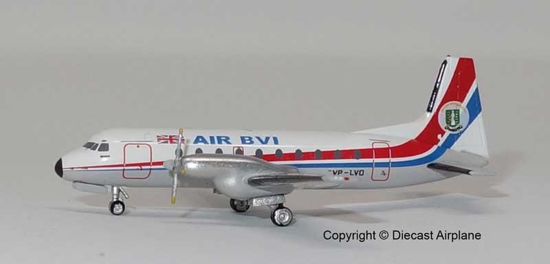 Air BVI 748 VP-LVO (1:400)