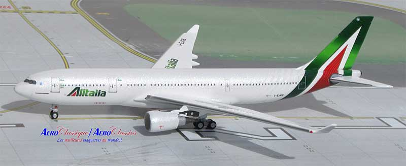 Alitalia A330-200 I-EJGB New Colors (1:400)