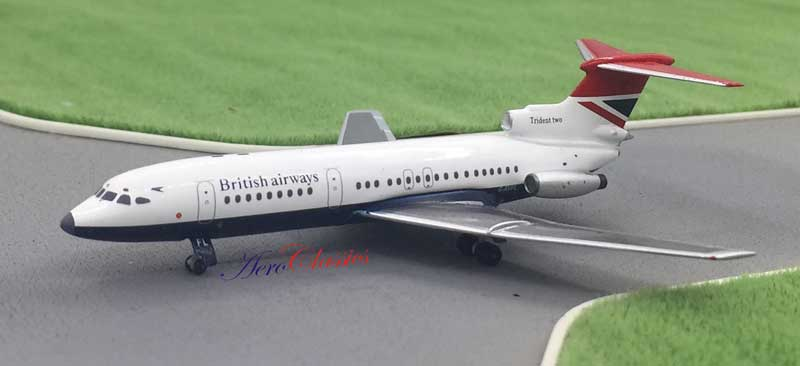 British Airways HS Trident 2 G-AVFL (1:400), AeroClassics Models Item Number ACBAW0117