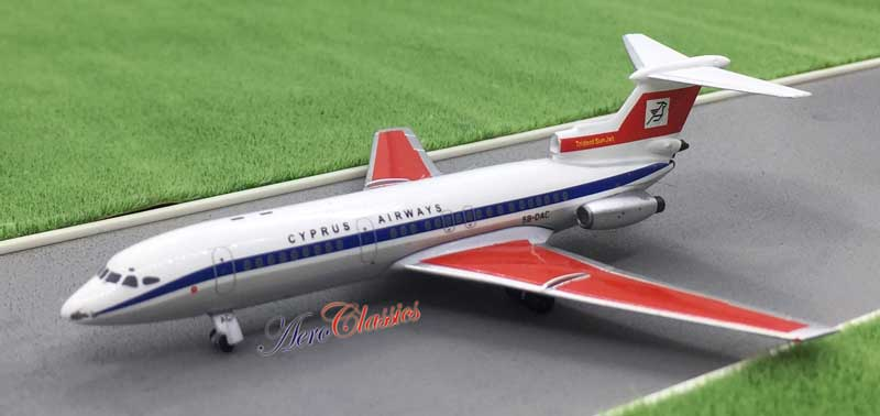 Cyprus Airways Trident 2 5B-DAC (1:400), AeroClassics Models Item Number ACCYP0217