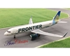 Frontier Airlines A320Neo N303FR Prairie Dog Tail (1:400)