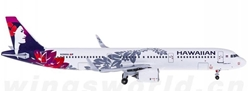 Hawaiian Airlines A321-200 N204HA (1:400) - Preorder item, order now for future delivery