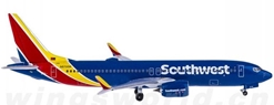 Southwest Airlines B737-8MAX N8706W (1:400)