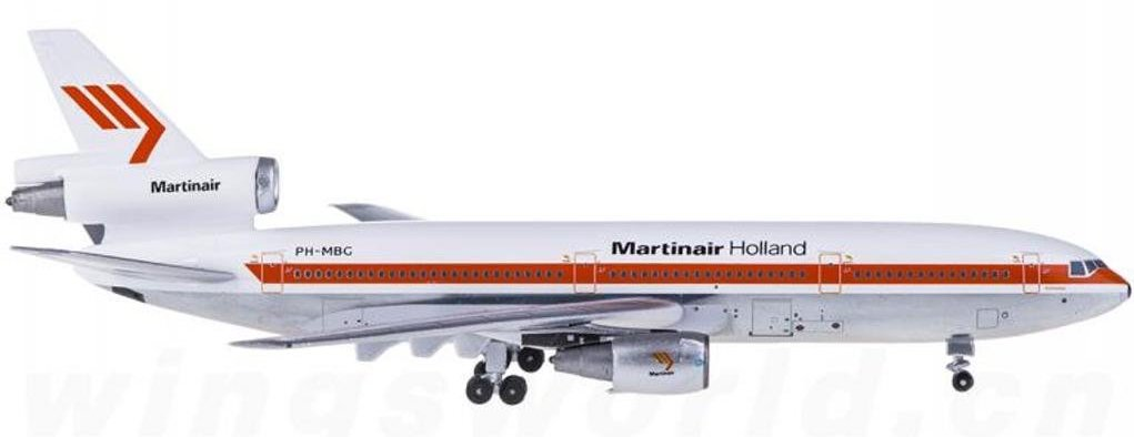Martinair Holland DC-10-30 PH-MBG (1:400) - Preorder item, order now for future delivery