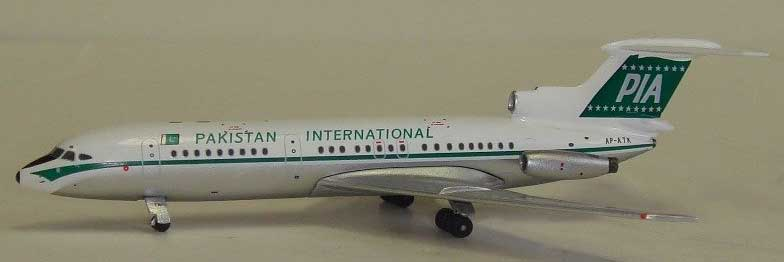 Pakistan International Trident 2 Reg. AP-ATK (1:400), AeroClassics Models Item Number ACPIA0208