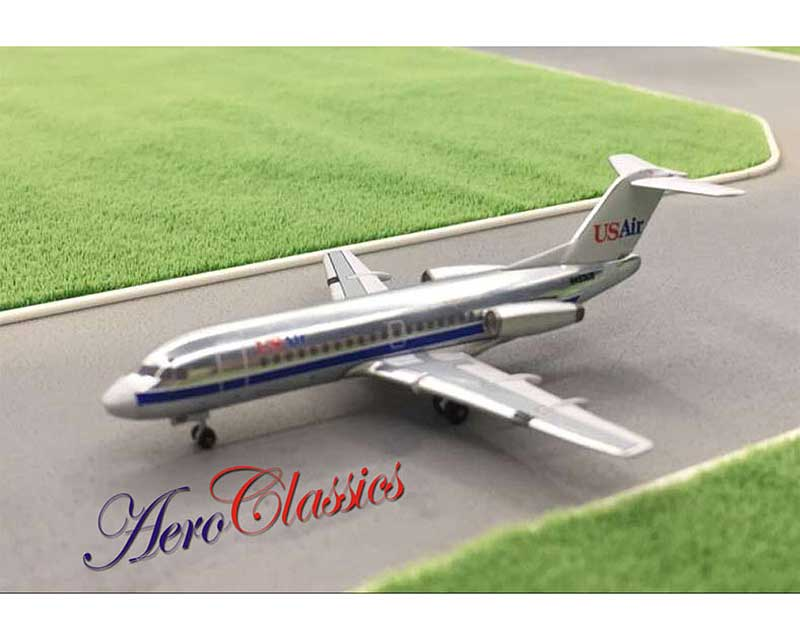 US Air / Piedmont Fokker F-28 N453US (1:400), AeroClassics Models Item Number ACUSA0517