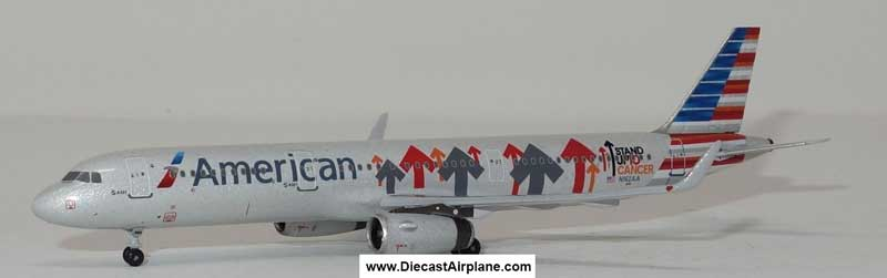 "American A321-200 N162AA ""Stand up to Cancer"" (1:400)"
