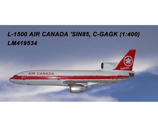Air Canada L-1011 C-GAGK (1:400) by Lochness Airplane Models Item number LM419534