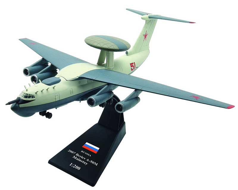 "A-50M ""Mainstay"", Russia, 2007 (1:200)"