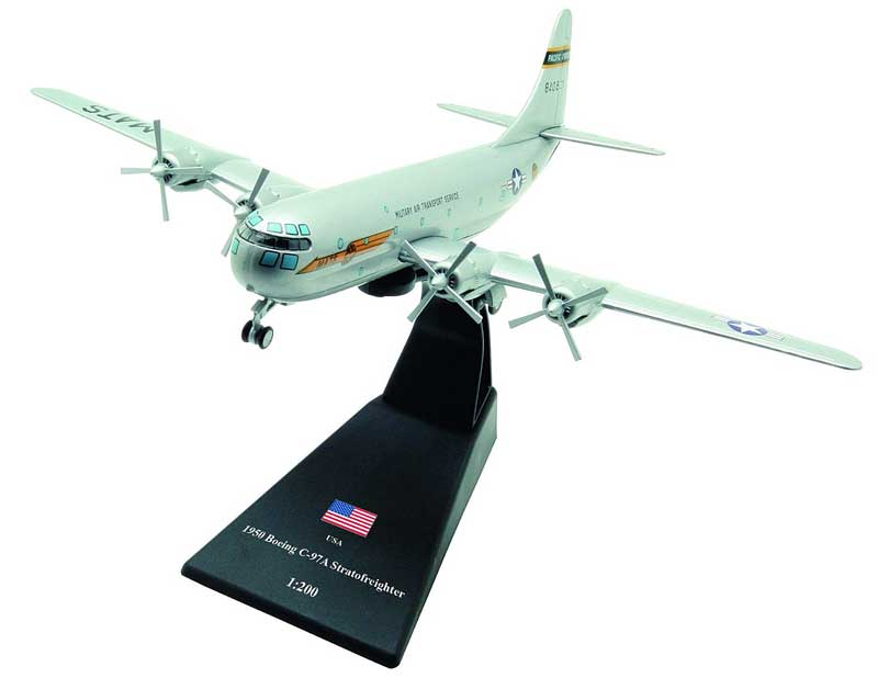 C-97A Stratofreighter, Military Air Transport Service (MATS), U.S. Air Force, 1950 (1:200), Amercom Diecast Item Number ACLB18