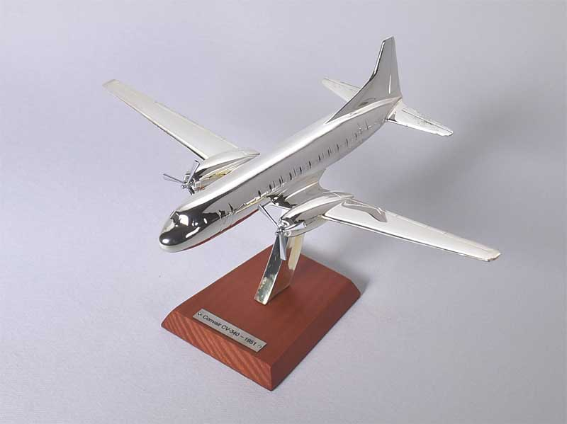Convair CV-340, 1951 (1:200) , Atlas Editions Item Number ATL-7504-012