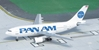 Pan American World Airways A310-222, N801PA, 1990's Billboard Colors (1:400), Byrd Models Item Number VMN801PA