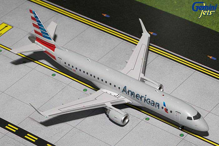 American ERJ-190 New Livery N953UW (1:200), GeminiJets 200 Diecast Airliners, Item Number G2AAL593