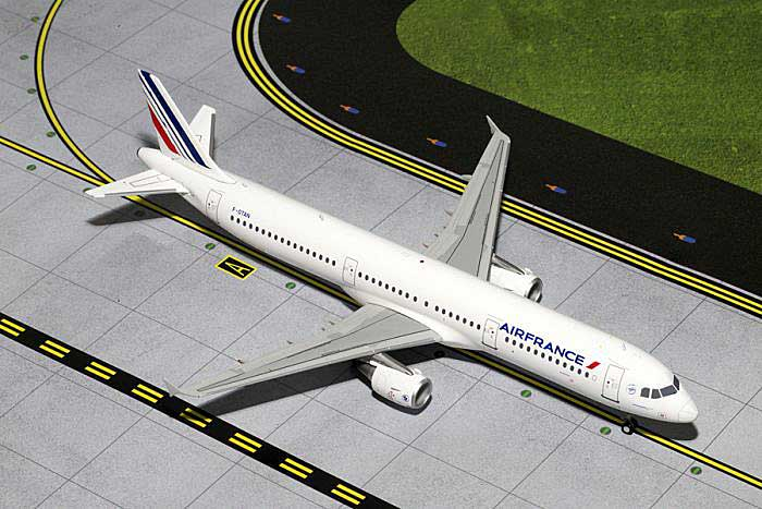 Air France A321 F-GTAN (1:200), GeminiJets 200 Diecast Airliners, Item Number G2AFR400