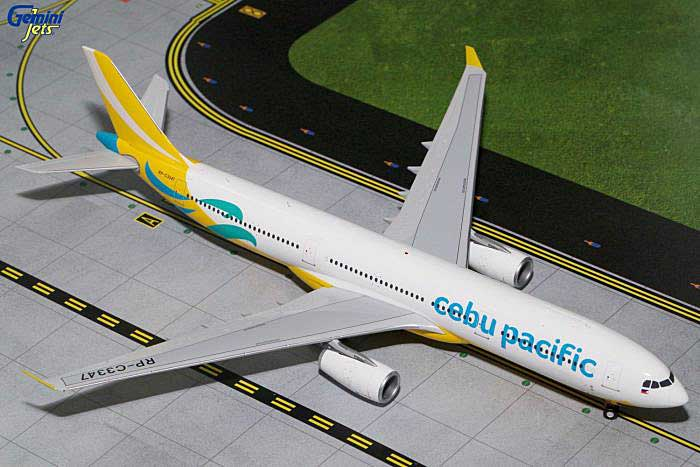 Cebu Pacific A330-300 New Livery RP-C3347 (1:200), GeminiJets 200 Diecast Airliners, Item Number G2CEB2A33