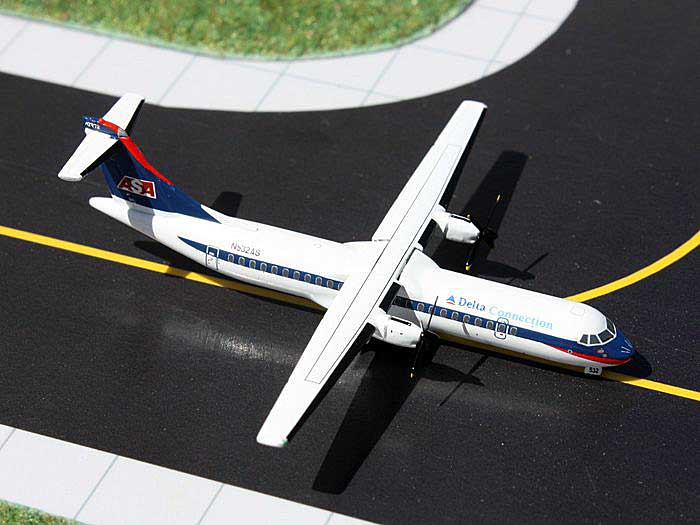 Delta Connection ASA ATR-72 N532AS (Ron Allen Livery) (1:400), GeminiJets 400 Diecast Airliners, Item Number GJDAL1134
