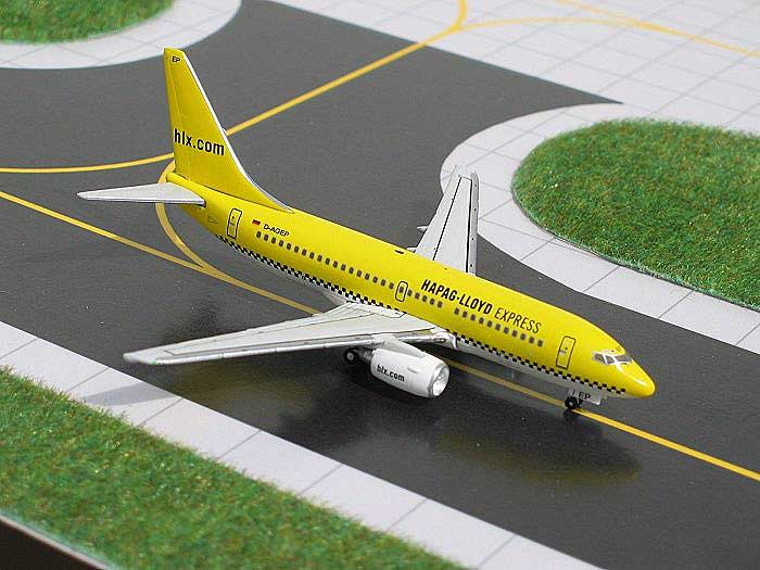 Hapag Lloyd Express B737-700 (1:400), GeminiJets 400 Diecast Airliners, Item Number GJHLF361