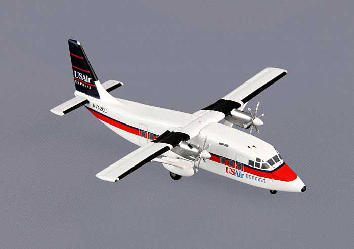 US Air Express Shorts 360 N742CC (1:400), GeminiJets 400 Diecast Airliners, Item Number GJUSA967