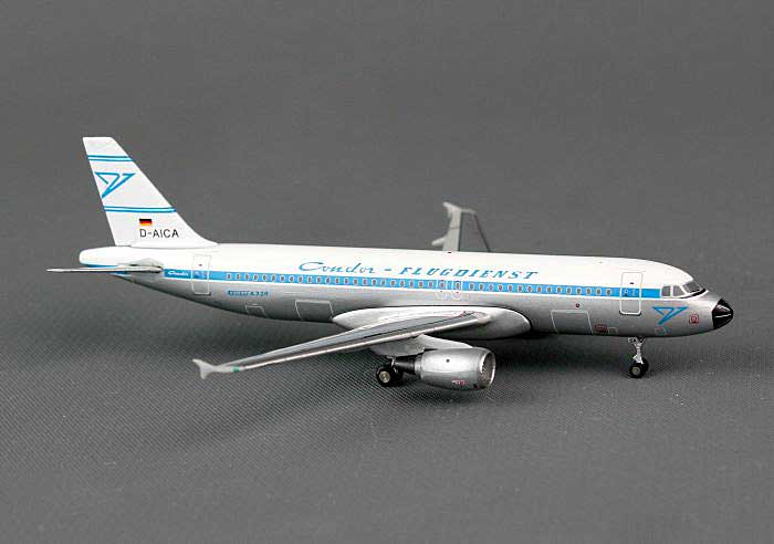 Condor A320 Retro Colors D-AICA (1:400), JC Wings Diecast Airliners, Item Number JC4CFG329