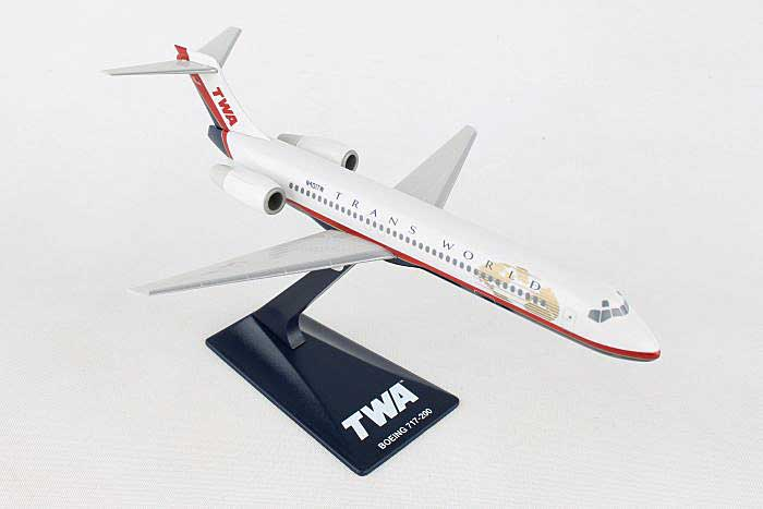 TWA 717-200 (New Colors) (1:200), Flight Miniatures Snap-Fit Airliners, Item Number FMTWA003