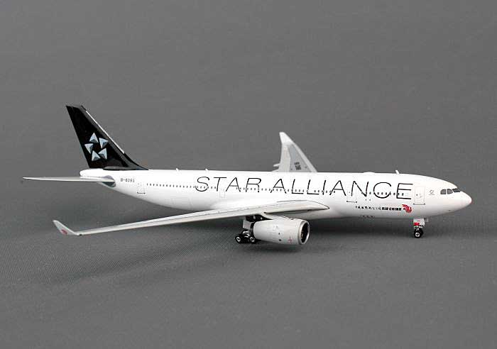 "Air China A330-200 ""Skyteam Star Alliance"" B-6093 (1:400), Phoenix 1:400 Scale Diecast Aircraft, Item Number PH4CCA1072"