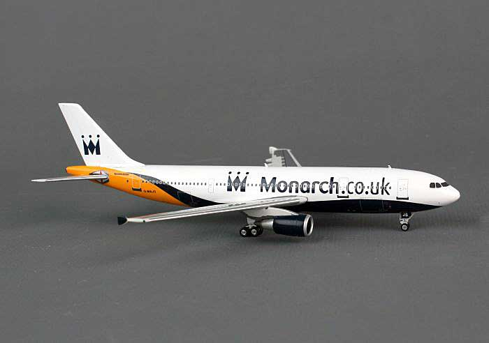 Monarch A300-600 G-MAJS ((1:400)), Phoenix (1:400) Scale Diecast Aircraft, Item Number PH4MON1187