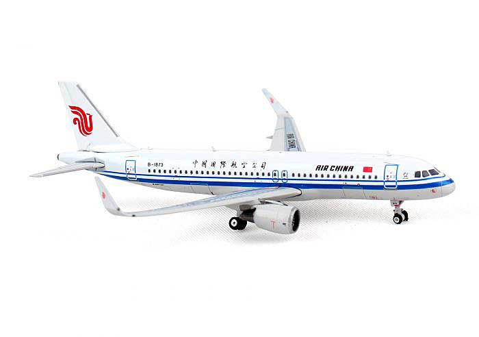 Air China A320 with Sharklets B-1873 ((1:400)), Phoenix (1:400) Scale Diecast Aircraft, Item Number PH4CCA1245