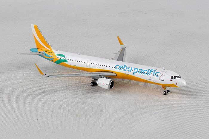 Cebu Pacific A321-200 Sharklets RP-C4113 (1:400), Phoenix 1:400 Scale Diecast Aircraft, Item Number PH4CEB1787