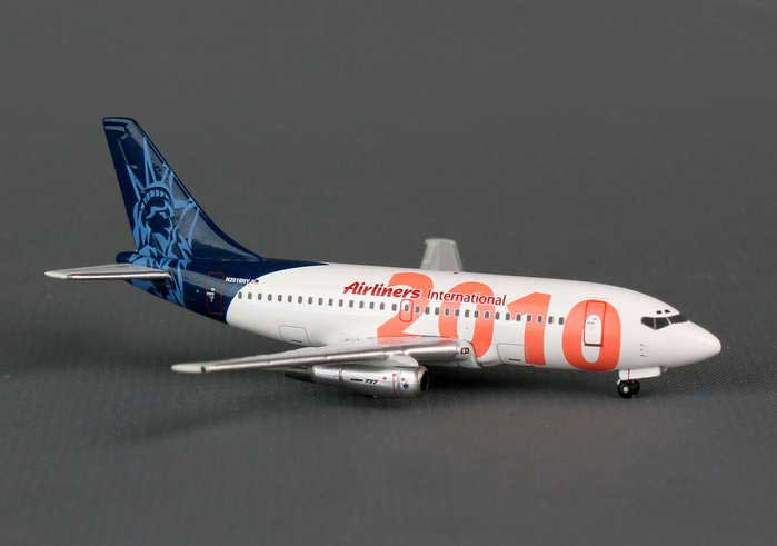 Airliners International Boeing 737-200 2010, Limited Edition (1:400), GeminiJets 400 Diecast Airliners Item Number GJAII1004