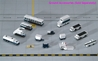 Airport 14 Piece Accessory Set (1:400), Gemini Select Diecast Item Number GJARPTSETA