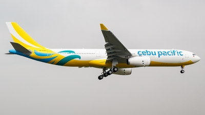 Cebu Pacific A330-300 New Livery RP-C3347 (1:400), GeminiJets 400 Diecast Airliners Item Number GJCEB4A33